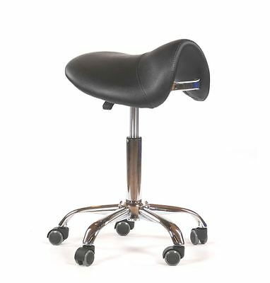 Urbanity hairdressing cutting beauty manicure nail salon chair saddle stool blac