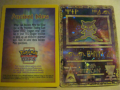 Pokemon Promo Card - Ancient Mew Card (Holofoil) - (Sealed)
