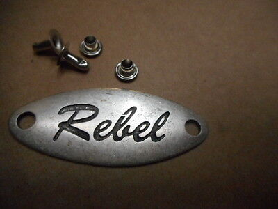 Metal Pin Rebel für Biker