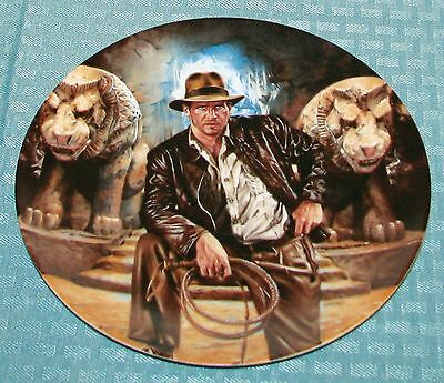 1989 Indiana Jones and Last Crusade #8066A First Issue L.E. Collector's Plate VG