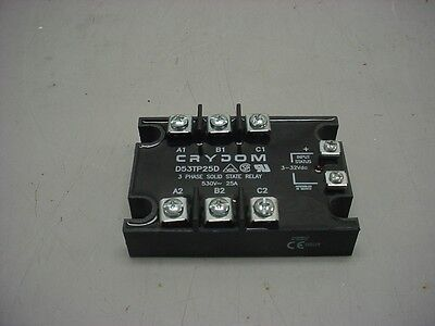 Crydom D53Tp25D 25A Three Phase Solid State Relay