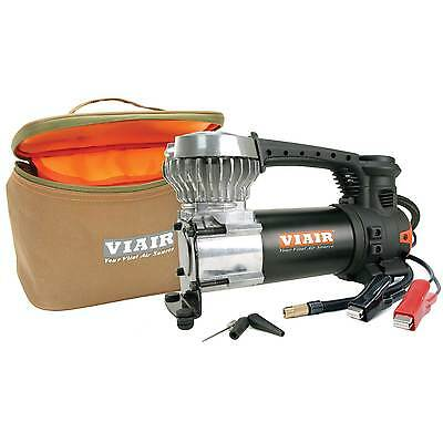 Viair 87P Portable Compressor Kit w/ Power Cord with Battery Clamps & Carry Bag