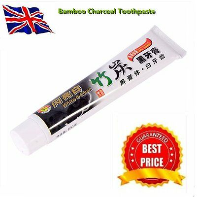100G Whitening Oral Hygiene Bamboo Charcoal Toothpaste Teeth Care Accessory BH