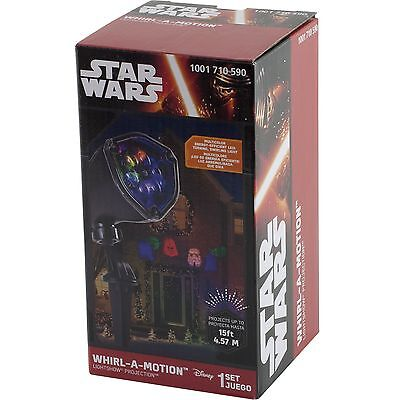 Star Wars LED Lightshow Outdoor Projection Christmas Light 15 ft