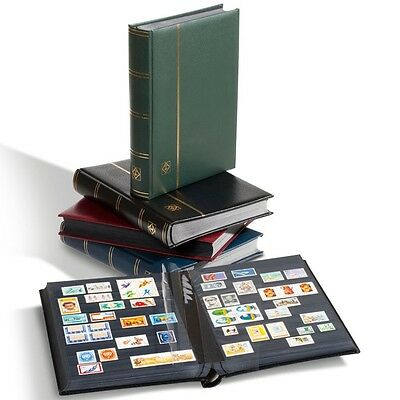 Leuchtturm, Classifier DIN A4, 64 pages black, cover leather padded