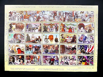 MONGOLIA 2002 Traditional History of Humanity MS2958 M/Sheet U/M FP9674