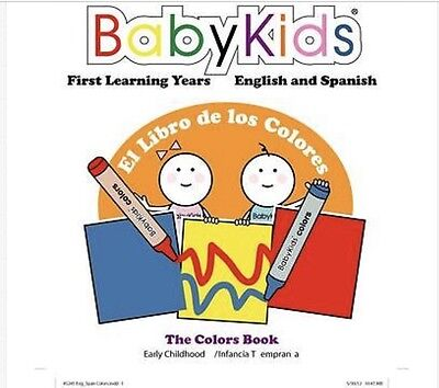 24 (12 each) Pre-K Eng/Spanish Books (Numbers & Colors) Pronunciations Included