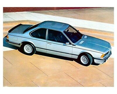 1980 BMW 635 CSi ORIGINAL Factory Photo ouc7789