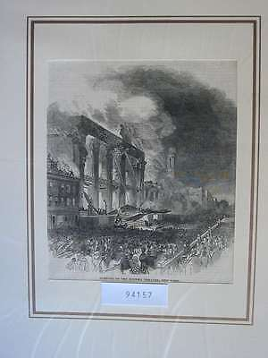 94157-Amerika-America-USA-United States-New York-T Holzstich-Wood engraving