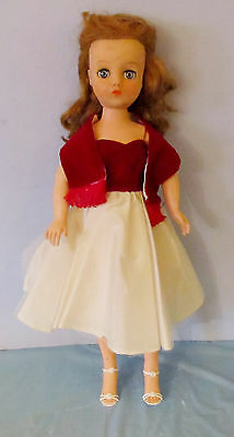 """20"""" Horsman Cindy High-Heeled Fashion Doll With Extra Dress"""