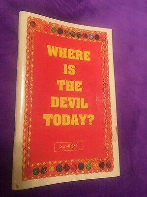 Holy Tabernacle Ministries Dr.Malachi Z York Where Is The devil Today Nuwaubian