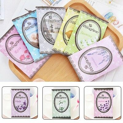 10x Nice Small Scented Sachets Variety For Car Bedroom Drawer Book Home Perfume