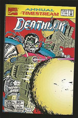 Deathlok Annual #1 (Aug 1992, Marvel) Time Stream, h14