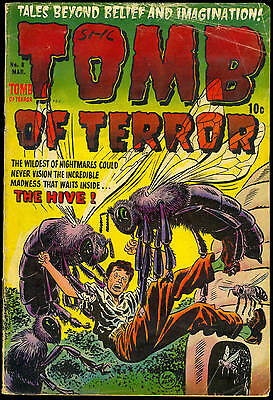 Tomb Of Terror #8 The Hive Pre-Code Golden Age Horror 1953