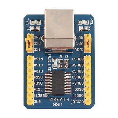 FT232RL USB to TTL Serial Converter Adapter Module 5V and 3.3V For Arduino AU