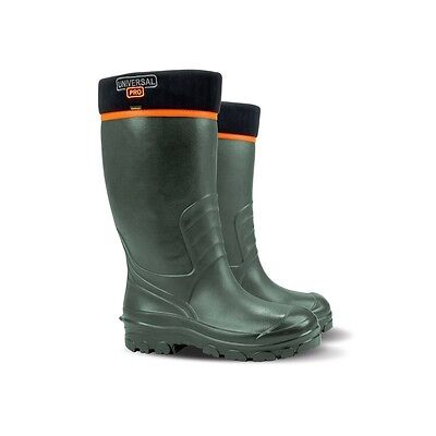 Demar Men's Universal Pro Dark Green Wellington Boots Sizes 6-12