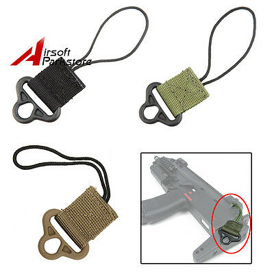 EMERSON Tactical Rifle Sling Swivel for Airsoft Hunting Shooting Black/OD/Tan