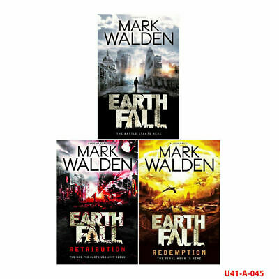 Mark Walden Collection Earthfall 3 Books Collection Set With Gift Journal NEW