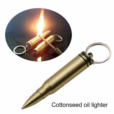 Portable Safety Permanent Match Keychain Lighter Stainless Steel Lighters AU