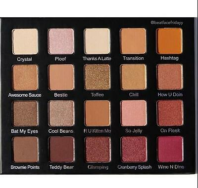 Pro Eye Shadow Palette 20Color Cosmetic Makeup Eyeshadow CB