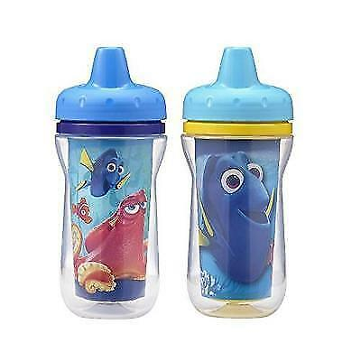 The First Years 2 Pack Disney/Pixar Finding Dory Insulated Sippy Cup, 9 Ounce