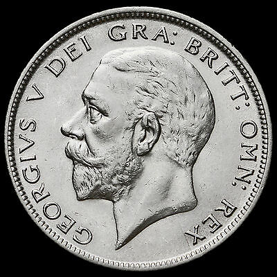 1933 George V Silver Half Crown, Scarce, EF