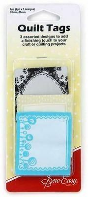 """Sew Easy Quilt Tags """"Large"""""""