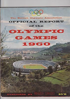 Magazine, Official brochure  Olympic games 1960, By world sports