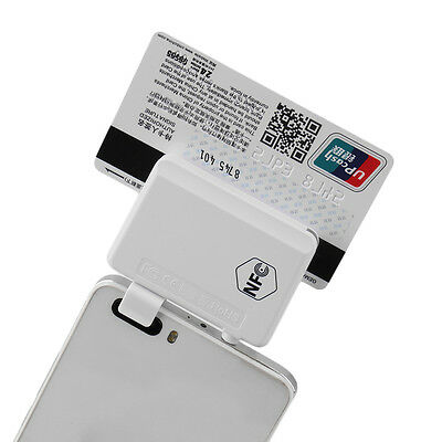 New NFC Contactless Tag Reader  Magnetic Card Reader For Smart Phones AU