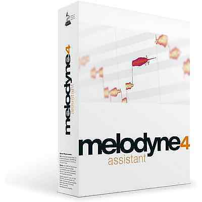 Celemony Melodyne 4 Assistant Upgrade from Essential (Serial Download)