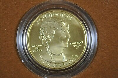 2014 W First Spouse Gold Uncirculated Coin Lou Hoover $10 W/Box and COA