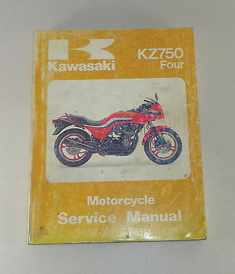 Kawasaki Zephyr Workshop Manual