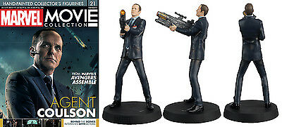 Marvel Movie Collection Figura De Resina Nº 21 Agent Coulson