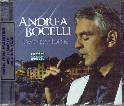 Cd + Dvd Set Andrea Bocelli Love In Portofino Sealed New 2013