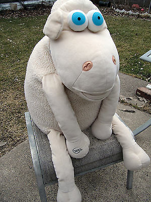 SERTA Sheep #70 HUGE LARGE GIANT advertising promo Plush stuffed animal 32""