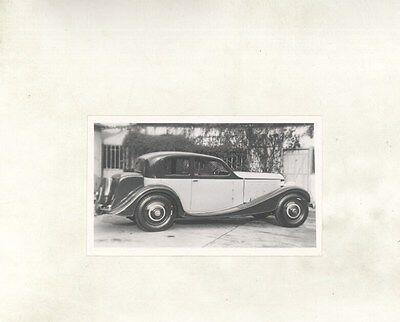 1934 ? Delage D8 Aero ORIGINAL Photograph ww7110