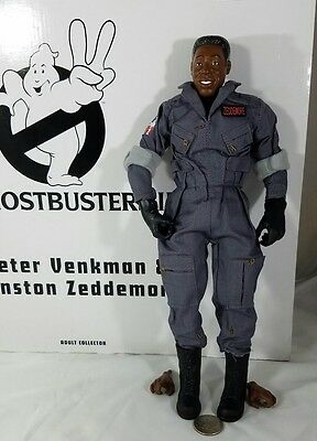 """Ghostbusters 2 Winston Zenddemore 1/6 action figure only! Matty Collector 12"""""""
