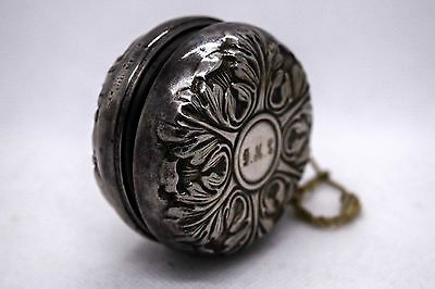 Vintage Antique YOYO - L.S.M. Sterling Silver Cover - Beautiful Condition!