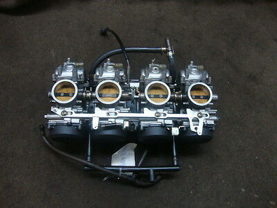 97 Kawasaki Zx750 Zx 750  Zx-7R Ninja Carb Set, Carburetors #yb28