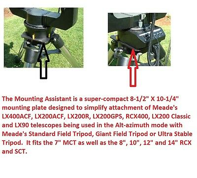 Telescope Mounting Assistant for Meade SCT Telescopes Peterson Engineering
