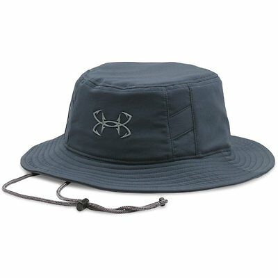 Under Armour Fish Hook Bucket Hat (Stealth Gray) 1271280-010