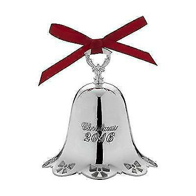 Towle 2016 Silver Plate Pierced Bell Ornament, 37th Edition New
