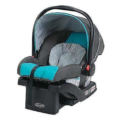 Graco SnugRide 30 Click Connect Front Adjust Car Seat, Finch New