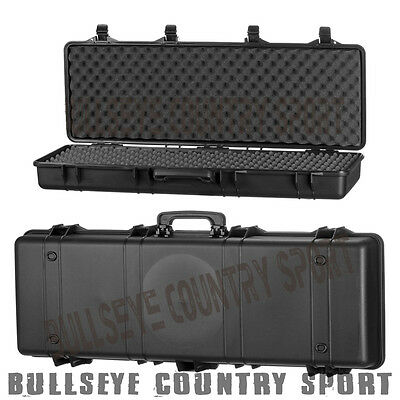 SRC Airsoft Hard Weapon Gun Rifle Case Box Black 68 cm Long Lockable