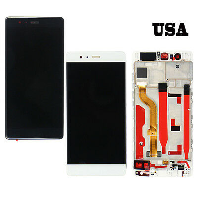 LCD Display Touch Screen Assembly Digitizer+Frame For Huawei P9 Standard EVA-L09