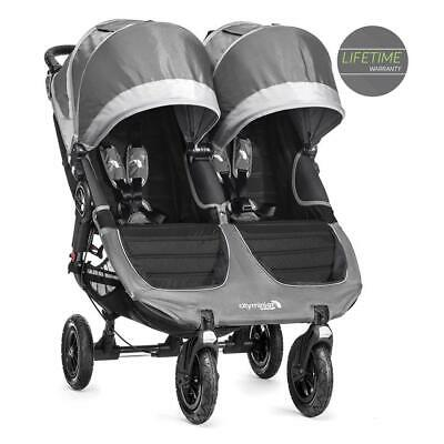Baby Jogger City Mini GT Double (Steel Grey) Twin Baby Pushchair - RRP £649.99