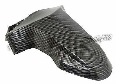 Genuine Front Hugger Fender Mud Flap Guard Carbon For YAMAHA Zuma BWS 125 YW125