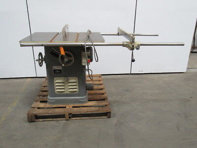 """DELTA 34-450 10"""" Unisaw Table saw 3Ph @ 480V W/ Extended Fence Guides"""