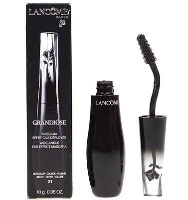 Lancome Grandiose Mascara Black 01 Noir Mirifique Fan Effect 10g | Damaged Box