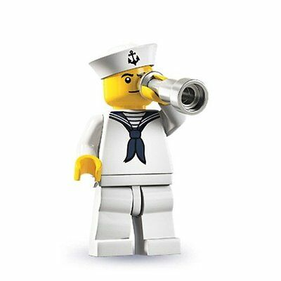 ☀️NEW LEGO Series 4 Collectible Minifigure Navy Sailor (face may vary) minifig